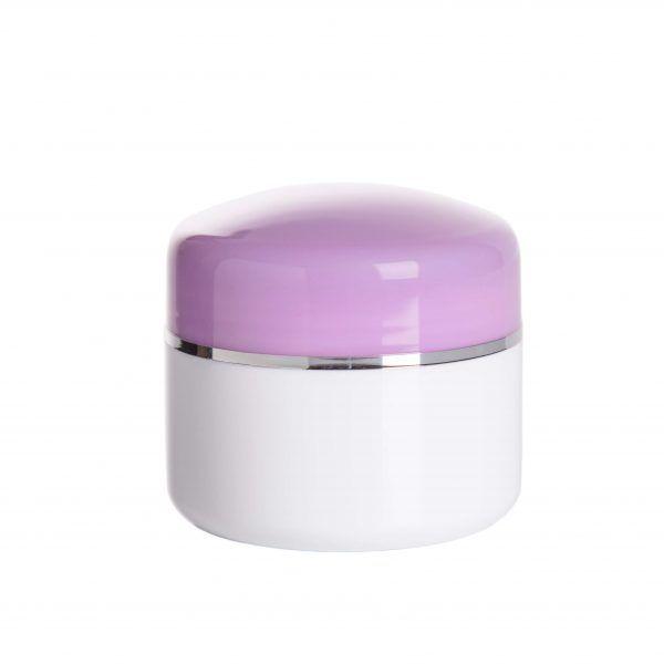 envase cosmetico morado