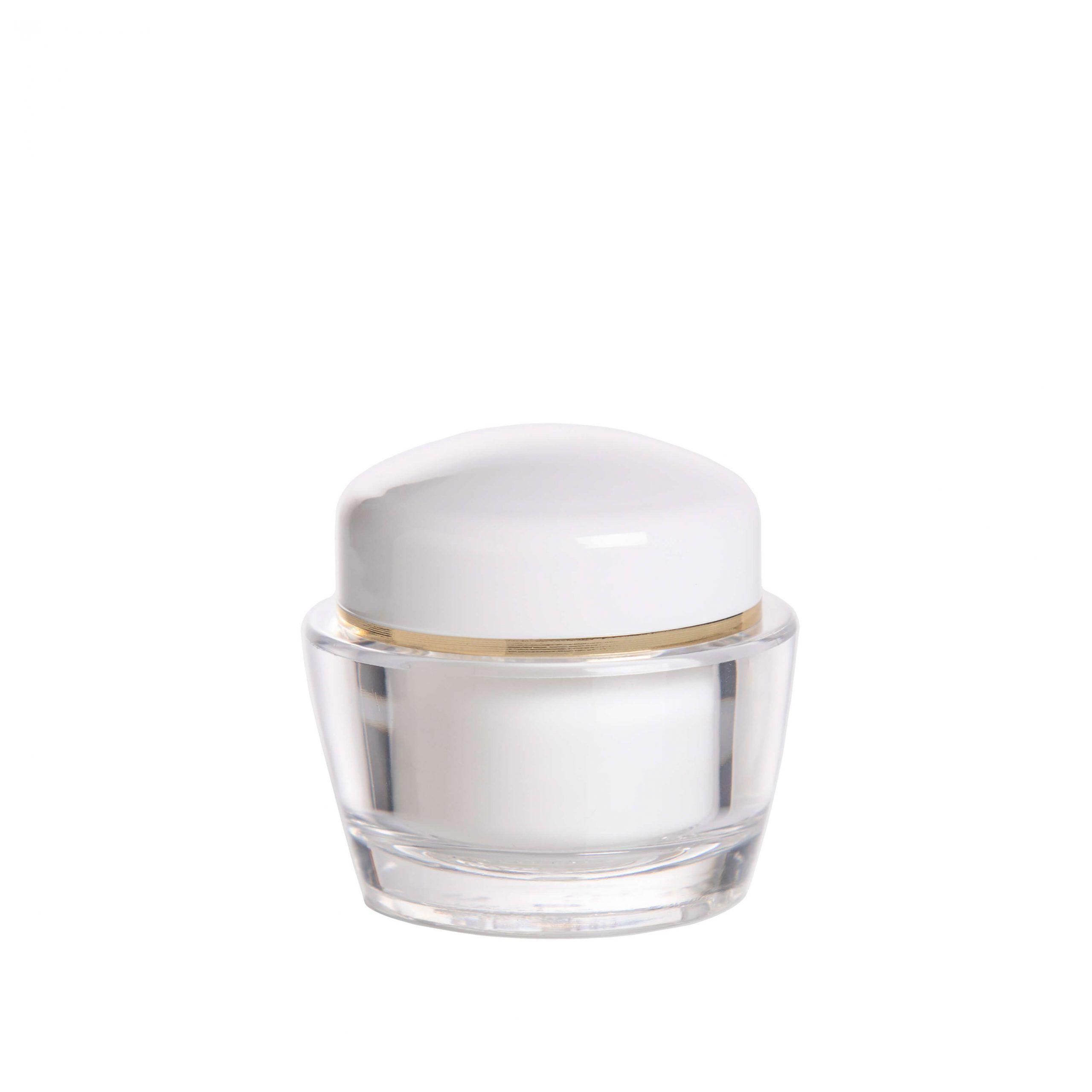 envase cosmetico blanco