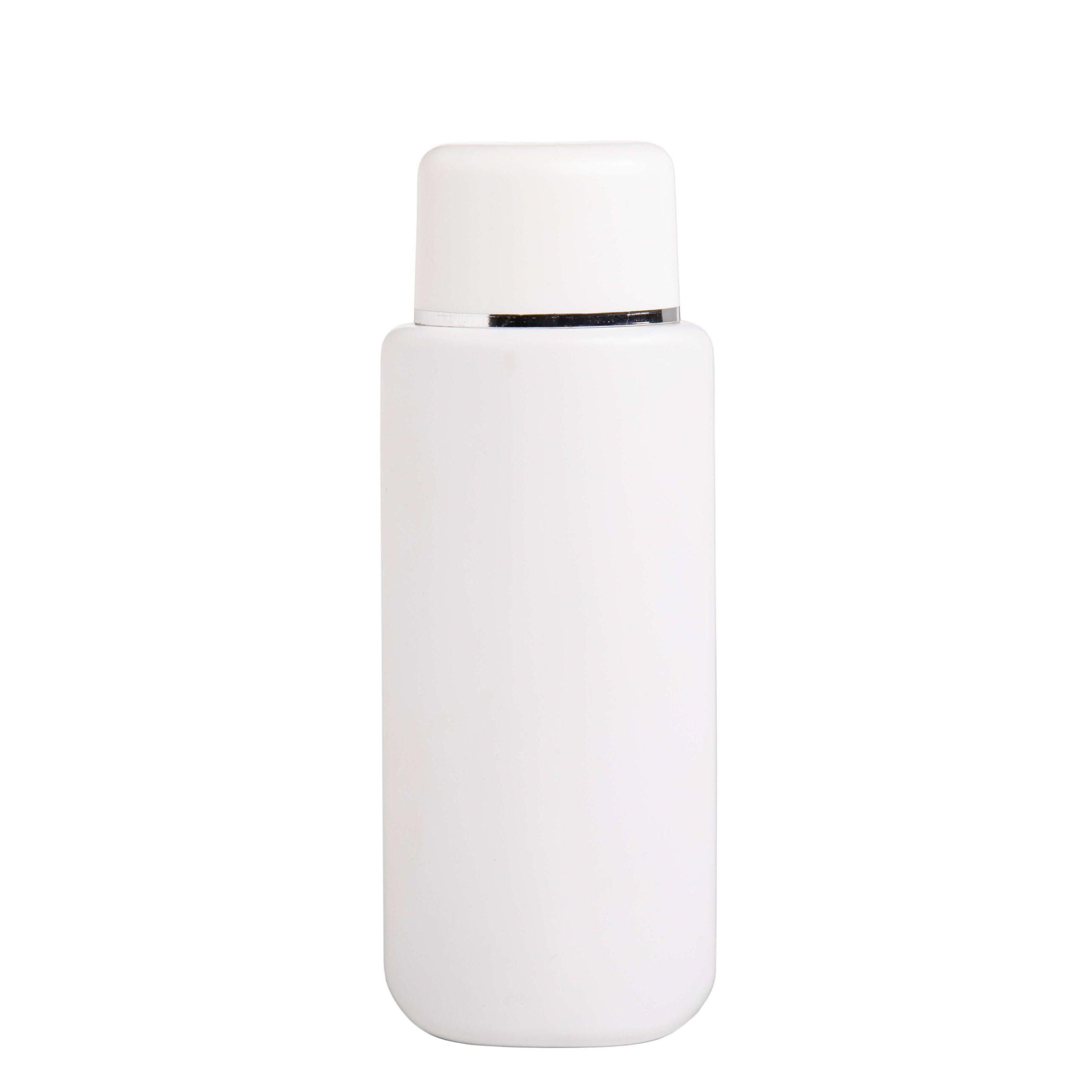 envase botella tapon blanco