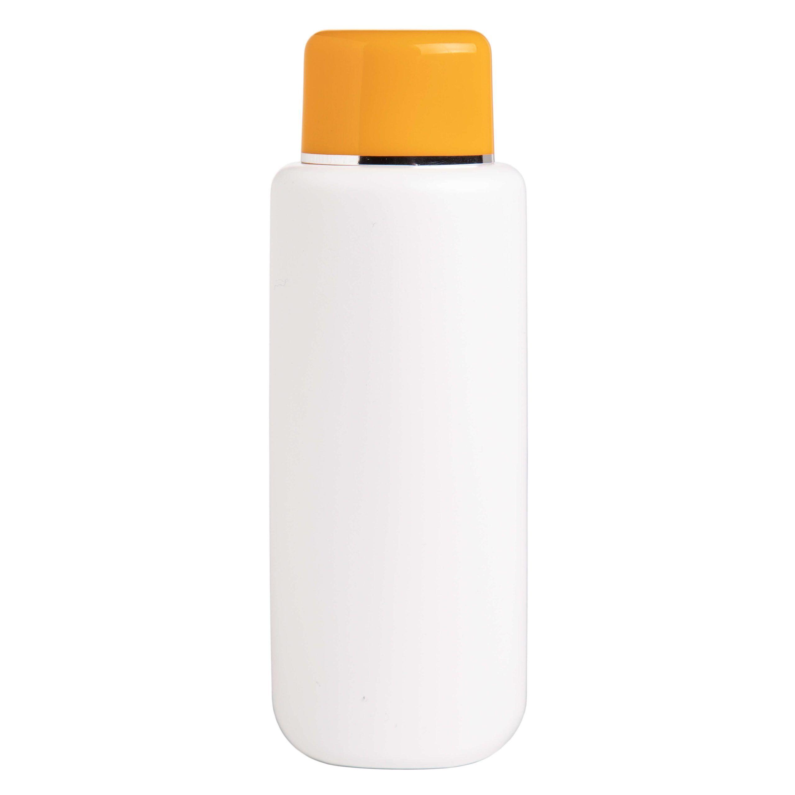 envase botella tapon amarillo