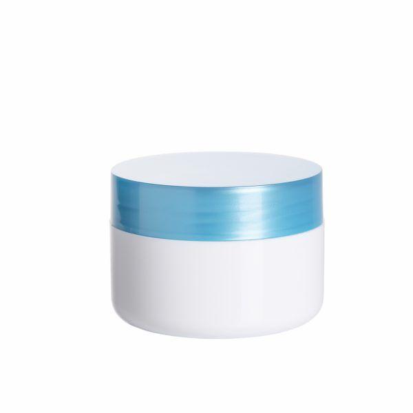 envase cosmetico azul